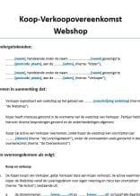 Overname Webshop zonder personeel