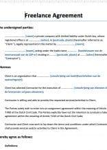 Freelance Agreement