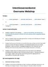 Overname Webshop