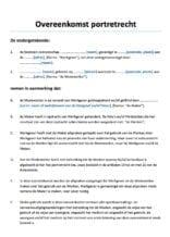 Overeenkomst portretrecht auteursrecht